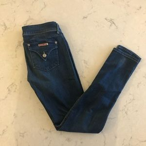 Hudson Mid-Rise Skinny Jeans Size 26